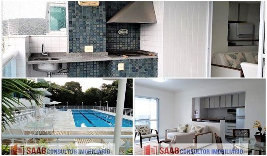 Apartamento RIVIERA DE SÃO LOURENÇO 2 dormitorios 2 banheiros 2 vagas na garagem
