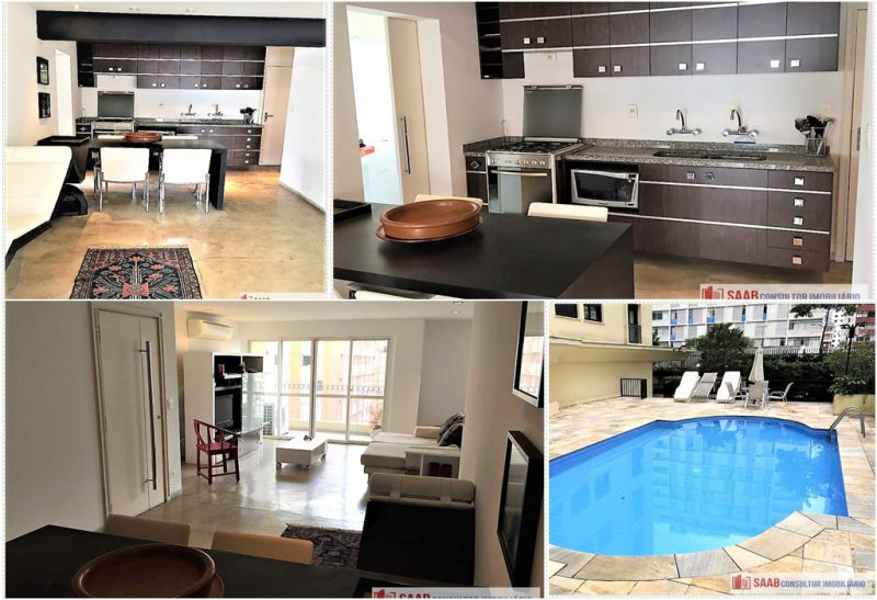 Apartamento Jardim Paulista 1 dormitorios 4 banheiros 2 vagas na garagem