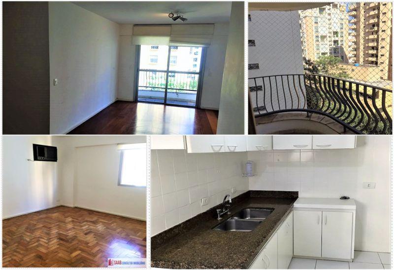 Apartamento Cerqueira César 3 dormitorios 3 banheiros 1 vagas na garagem