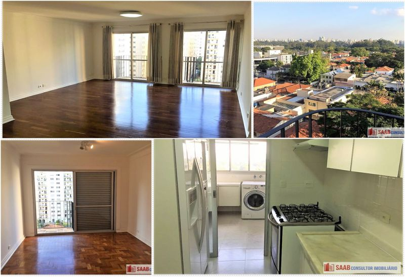 Apartamento Jardim Paulista 4 dormitorios 4 banheiros 2 vagas na garagem