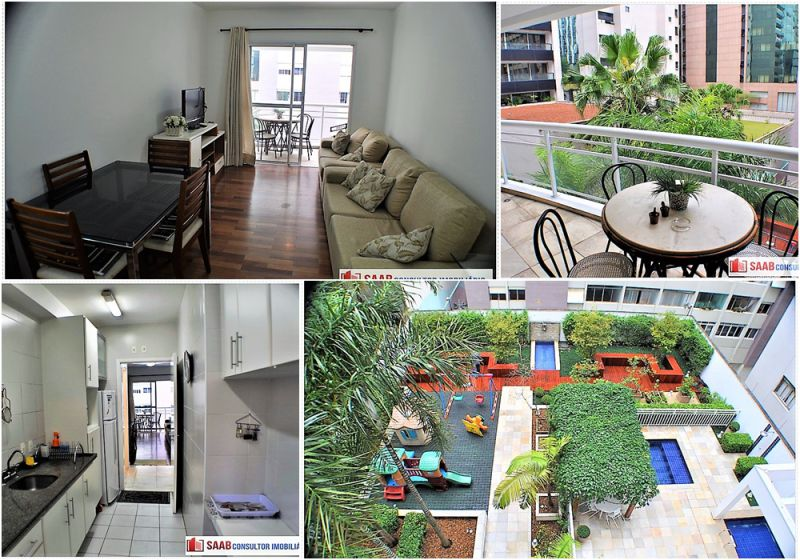 Apartamento aluguel Jardim Paulista - Referência 1820-s