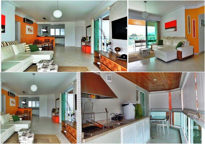 Apartamento RIVIERA DE SÃO LOURENÇO 4 dormitorios 4 banheiros 2 vagas na garagem