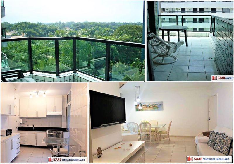 Apartamento venda RIVIERA DE SÃO LOURENÇO - Referência 1845-Ag