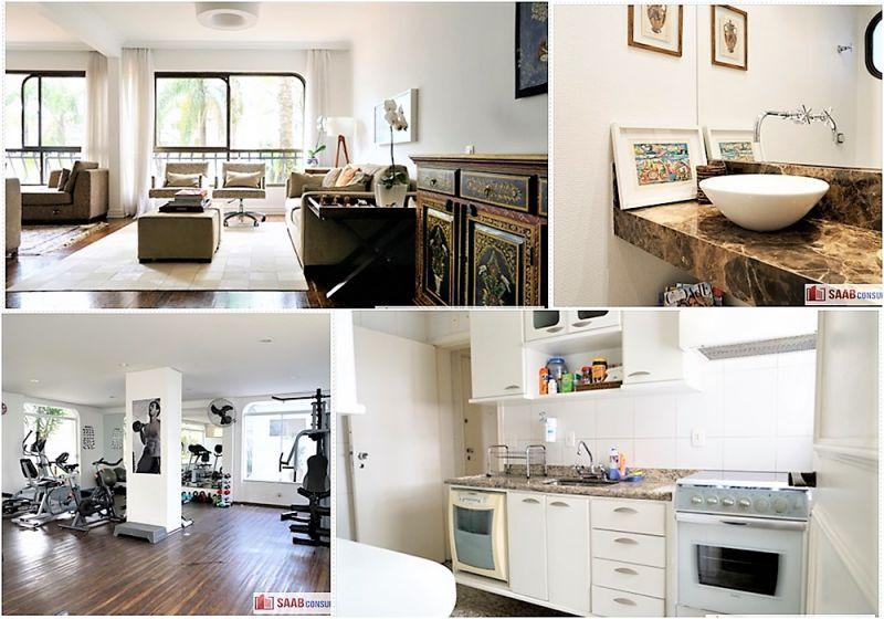 Apartamento Jardim Paulista 3 dormitorios 4 banheiros 2 vagas na garagem