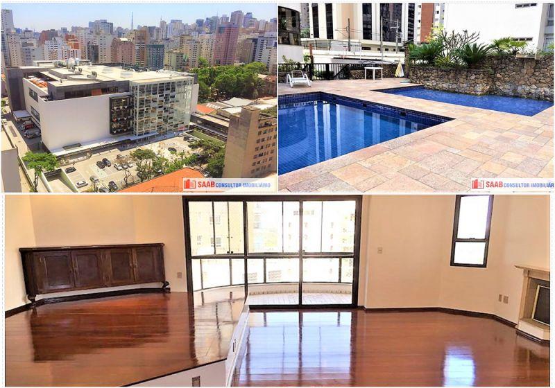 Apartamento Jardim Paulista 3 dormitorios 5 banheiros 2 vagas na garagem