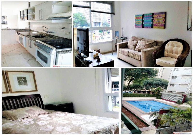 Apartamento Jardim Paulista 1 dormitorios 1 banheiros 0 vagas na garagem