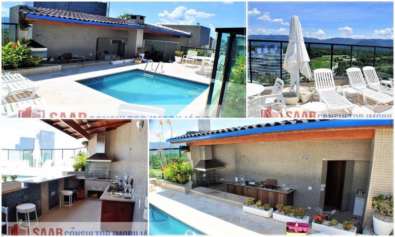 Cobertura RIVIERA DE SÃO LOURENÇO 5 dormitorios 6 banheiros 3 vagas na garagem